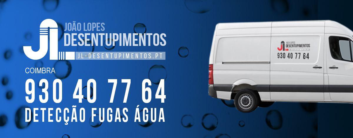 Detecção Fugas Água Coimbra