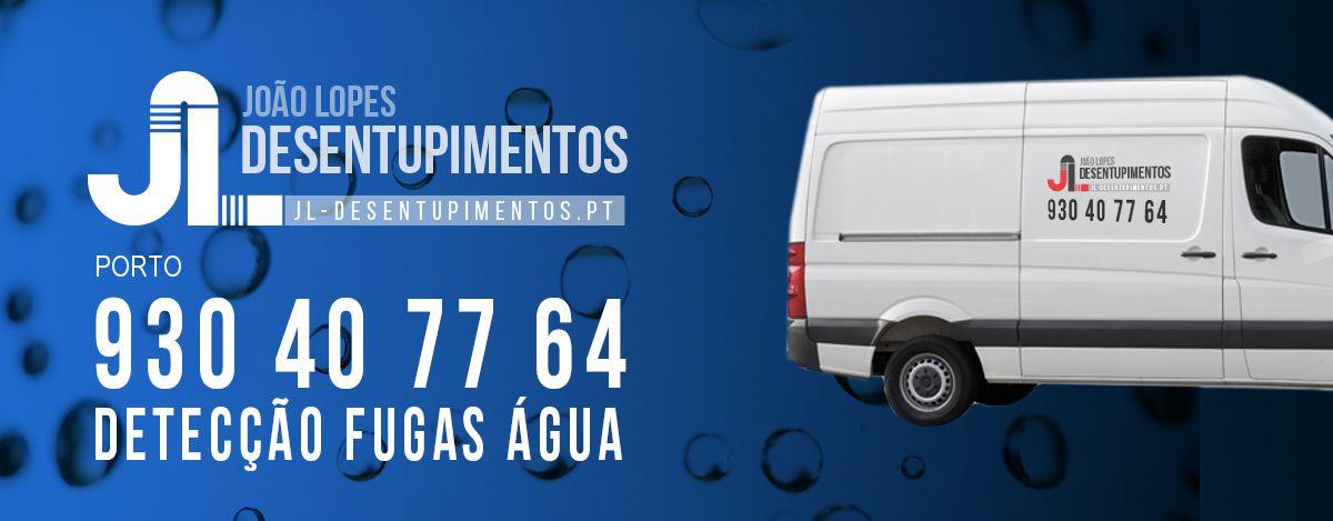 Detecção Fugas Água Porto
